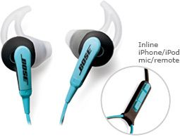 Bose SIE2i sport headphones - so comfortable!