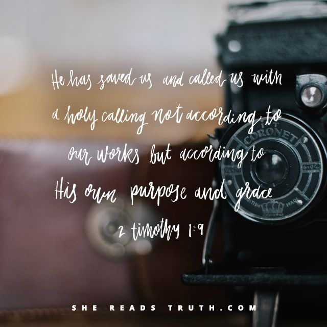Day 12 of the This Is The Gospel reading plan from She Reads Truth | Our Redeemed Purpose Join us at SheReadsTruth.com or on the SRT app!