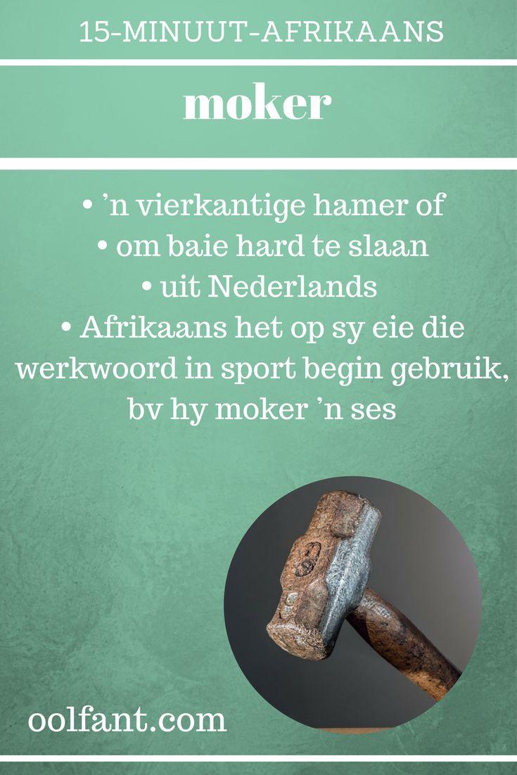 Leer Afrikaans, tuisskool, tuisskool in Afrikaans, 15-Minuut-Afrikaans, aanlynkursus, Afrikaanse woorde
