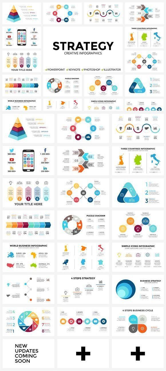 STRATEGY - Free Updates Presentation Templates Infographics