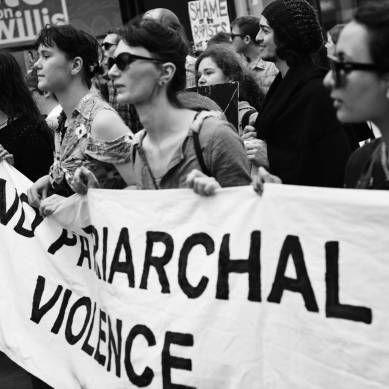 Stop Rape Now march, Wellington. Nov 2013. Photo by Sophi Reinholt