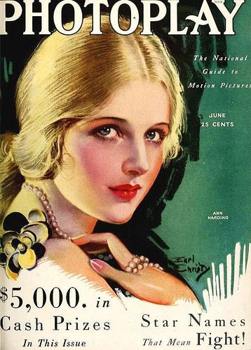 Ann Harding, Photoplay Magazine, June 1930 | Flickr - Photo Sharing!