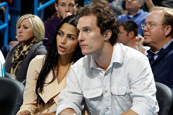 Camila Alves - Sacramento Kings v New Orleans Hornets