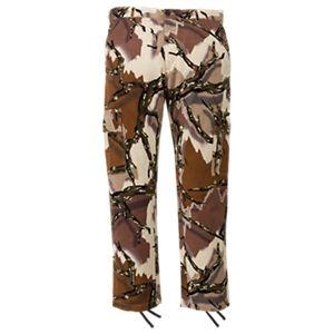 Predator Camo 6-Pocket Poly Hunting Pants for Men - Predator Deception Brown - 2XL