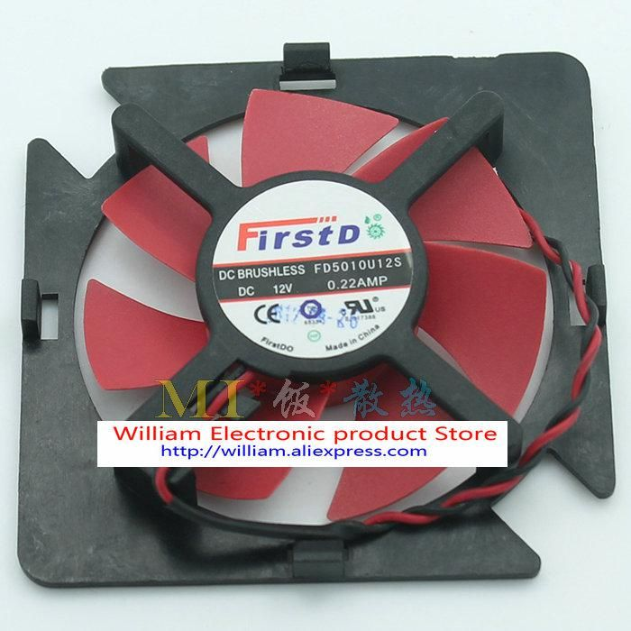 Original Fonsoning Fd5010u12s 12v 0 22amp For Ati Graphics Card
