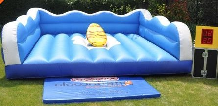 Surf Simulator Inflatable Bouncy Castle Virtual Surfing