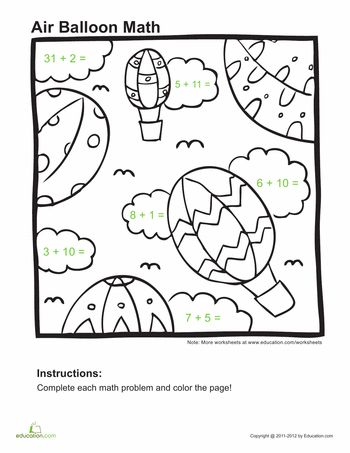Math Coloring Pages St Grade Free Page First Sheets In Mystery