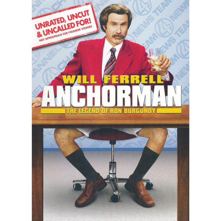 Anchorman: The Legend of Ron Burgundy (WS) (Unrated, Uncut & Uncalled For!) (dvd_video)