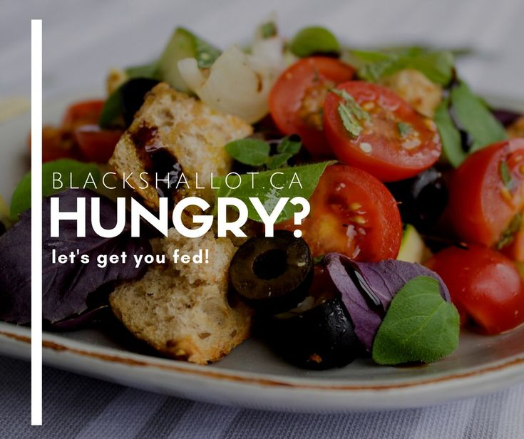 Hungry? Let's get you fed!