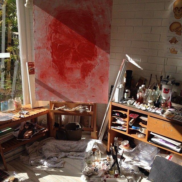 artist studio / SARAH SLATER
