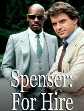 Avery Brooks and Robert Urich....  Hawk and Spenser... One of my absolutely favorite shows.....wish it was on DVD!