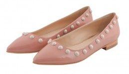 #balerini #pantofi #roz #nude