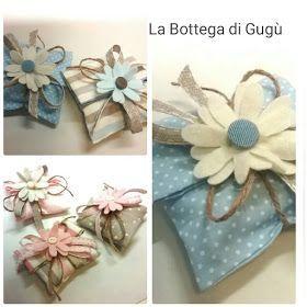 La bottega di Gugù: Come fare bomboniere porta-confetti semplici e d'effetto