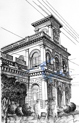 Best Pen And Ink Sketches Of Historical Buildings Images On