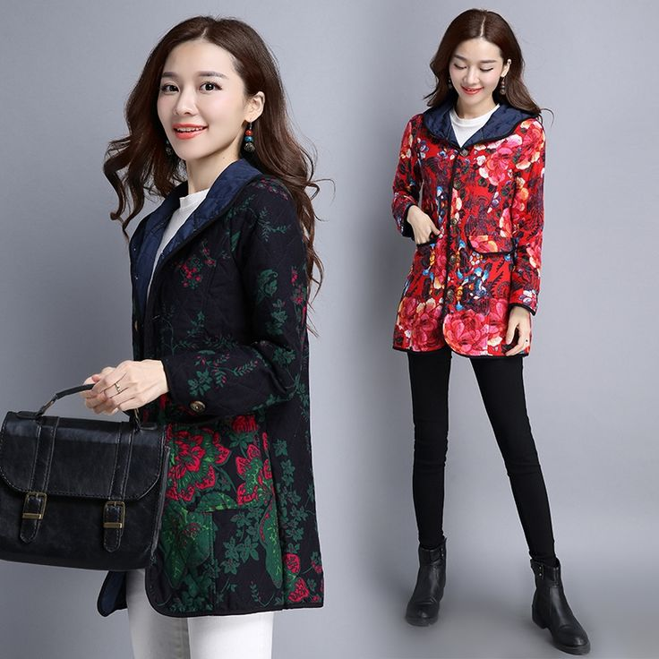 27.22$  Buy here - https://alitems.com/g/1e8d114494b01f4c715516525dc3e8/?i=5&ulp=https%3A%2F%2Fwww.aliexpress.com%2Fitem%2F2016-new-winter-shoot-large-size-women-shirts-in-the-long-section-of-MM-thick-fat%2F32771873892.html - 2016 new winter shoot large size women shirts in the long section of MM thick fat thin cotton padded jacket