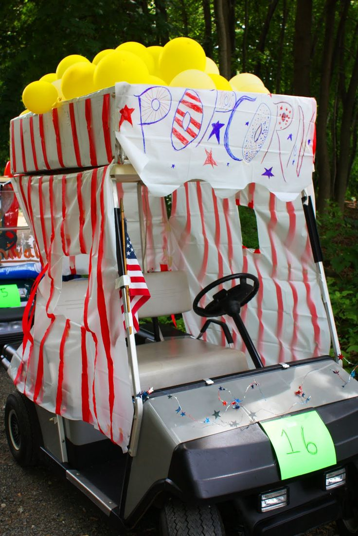 73 best images about golf cart parade ideas on pinterest for Golf decoration ideas