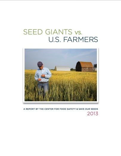 The Center for Food Safety (CFS) and Save our Seeds (SOS) investigate how the current seed patent regime has led to a radical shift to consolidation and control of global seed supply and how these patents have abetted corporations, such as Monsanto, to sue U.S. farmers for alleged seed patent infringement.