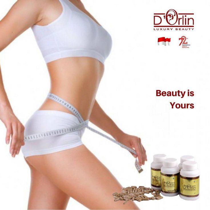 BEST SLIMM&BEAUTY CAPSULE BY D'ORLIN SKIN CARE - Menghaluskan & Memutihkan kulit  - Mencegah & Mengobati Keputihan  - Bakar Lemak Jenuh ONLY 250 K (isi 90 Capsule)  More info www.orlincosmetics.com