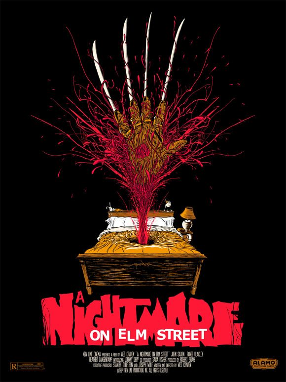 nightmare on elm street mondo poster - Halloween Mondo Poster