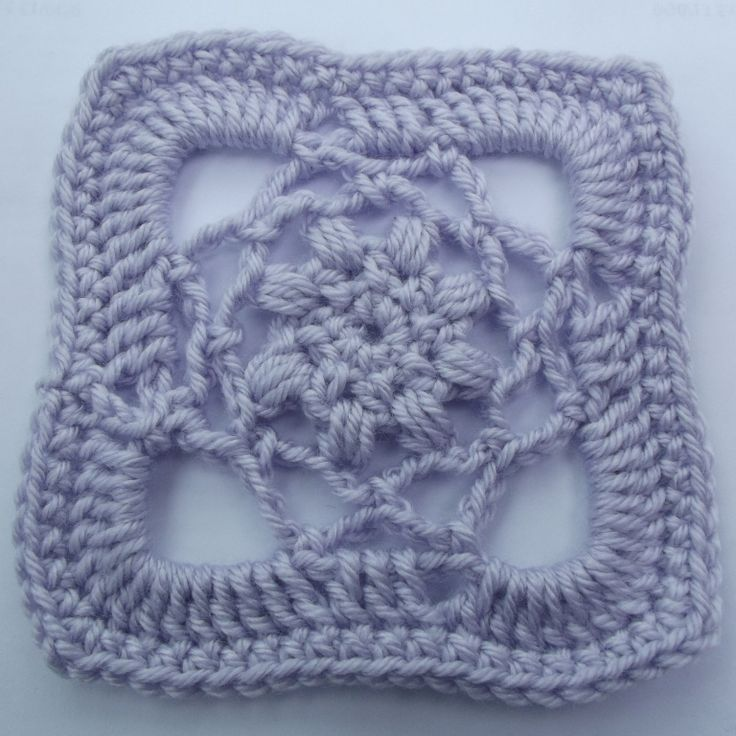Lacy Afghan Square | Free Crochet Pattern, lovely as a shawl: thanks so xox