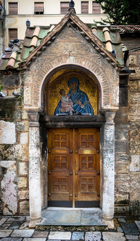 Church of Panagia Kapnikarea, Ermou Street, Athens, Greece