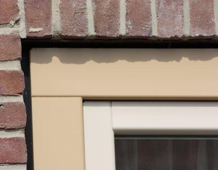 Kunststofkozijn met houtlook verbinding - Starkozijn Flevoland