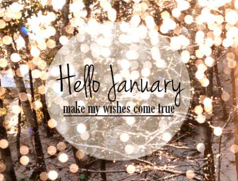 Afbeeldingsresultaat voor hello january