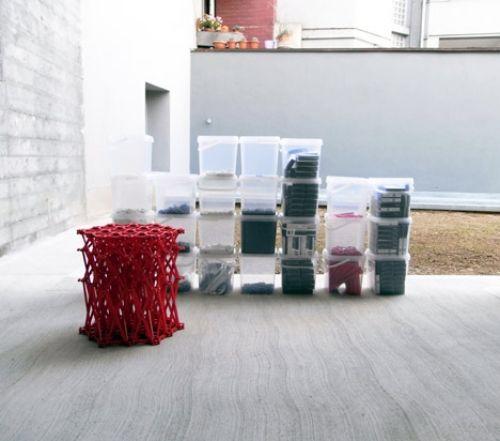 Das XXXX Sofa Design von Yuya Ushida aus rezyklierten Teilchen - designer hangesessel satala fuss