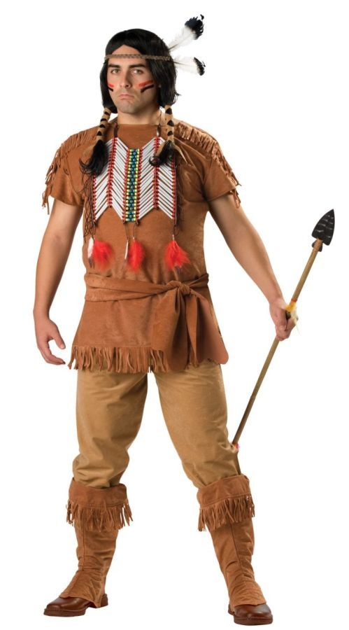 how to make a native american costume