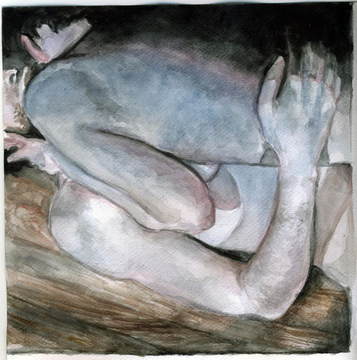 dead colors - watercolor on watercolor paper Virag Papp, 2008 #dead colors #watercolor
