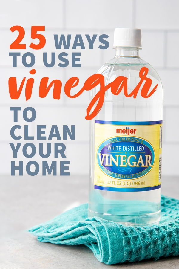 Say Hello To The Workhorse Of Your All Natural Cleaning Routine Distilled White Vinegar Here Are 25 Ways Clean With An Disinfectant