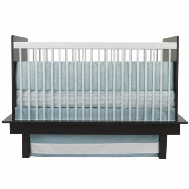 Oilo 3 Piece Crib Bedding Set (Raindrops Motif) - www.rightstart.com