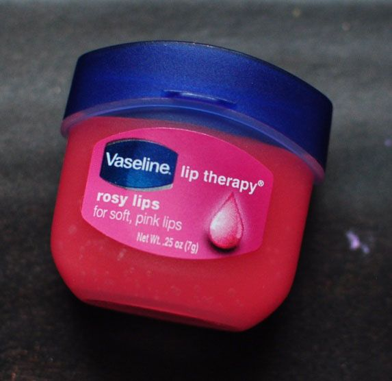 Vaseline Lip Therapy Rosy Lips.  The best lipgloss ever!!!