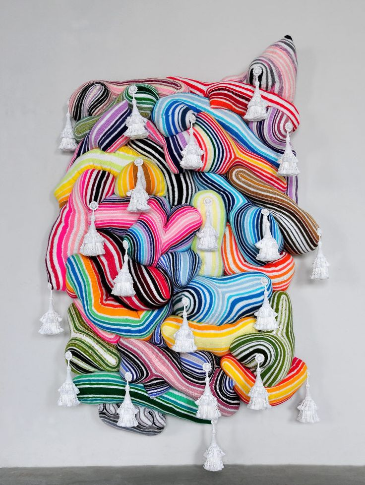 Joana Vasconcelos - Crochet Painting - Wow!