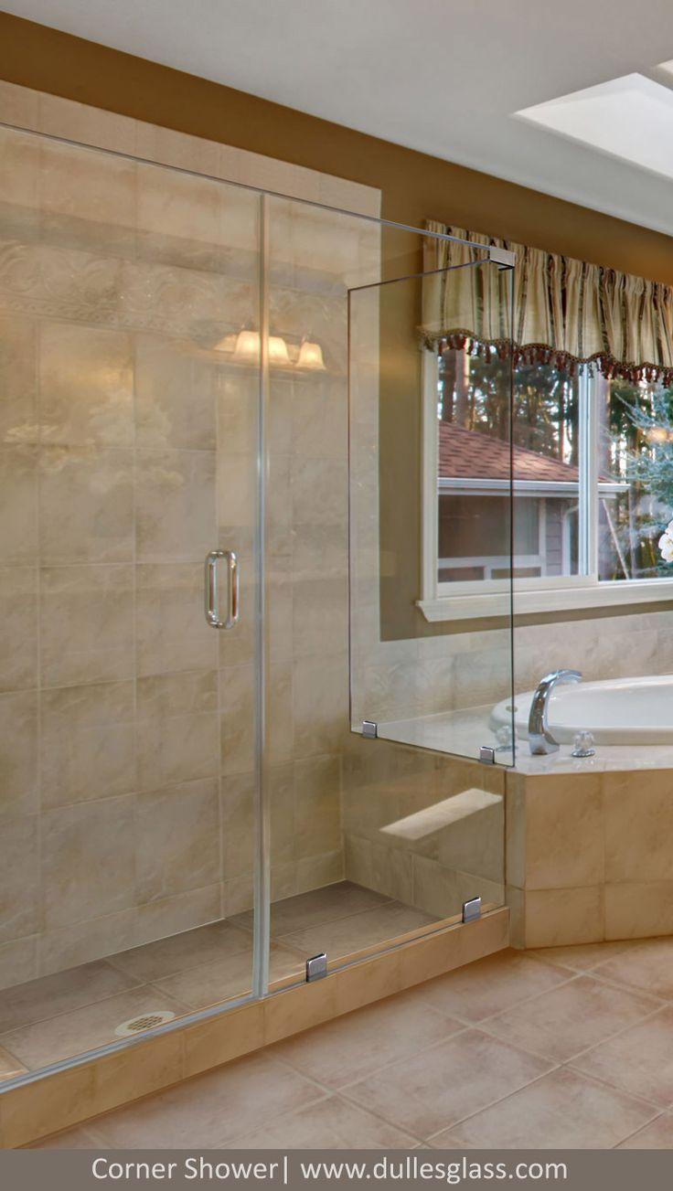 12 best Corner Shower Doors images on Pinterest | Corner shower ...