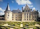 Château d'Azay-le-Ferron, France, situated on the border of La Brenne and La Touraine and built from the 15th to the 18th centuries.
