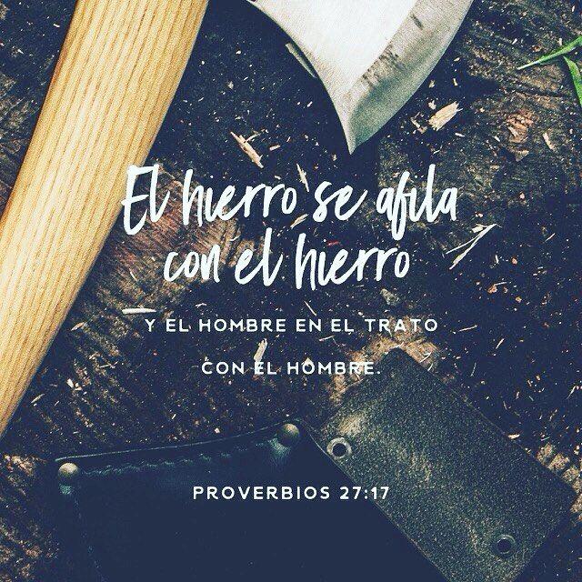 Para afilar el hierro la lima; para ser mejor persona el amigo. Proverbios 27:17 @youversion @ibvcp #buenosdias #islademargarita #venezuela