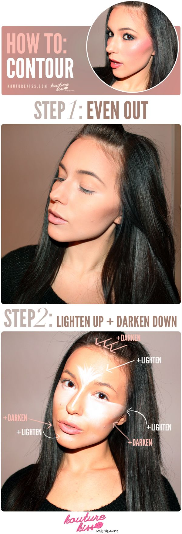 How To: Contour - Kouturekiss - Your One Stop Everything Beauty Spot