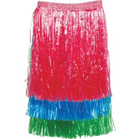 Adult Hula Skirts 3ct - Hula Skirts - Luau Theme Party - Theme Parties - Categories - Party City $8.99 ct