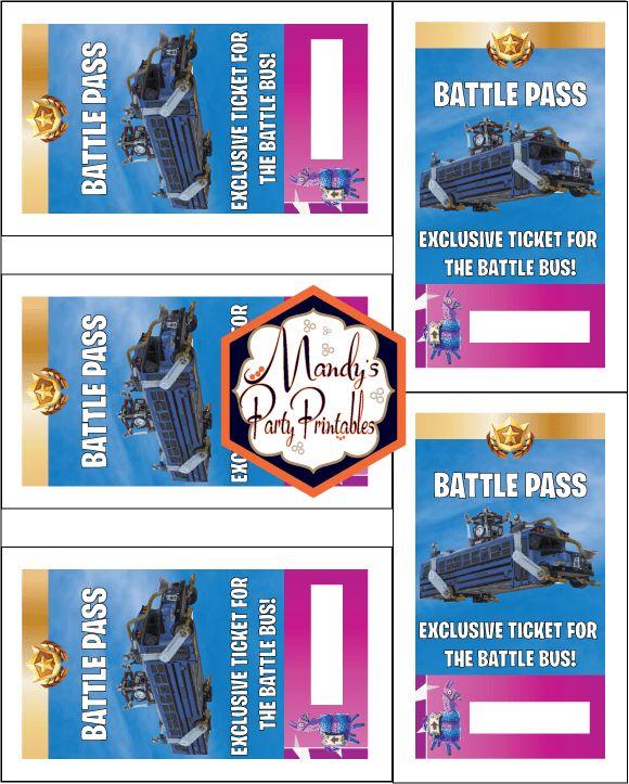 free printable fortnite battle pass lanyard