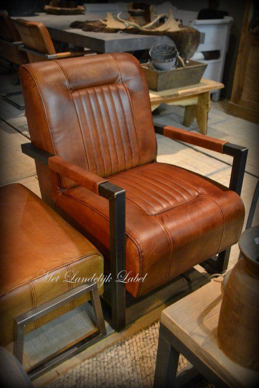 Leren fauteuil IV