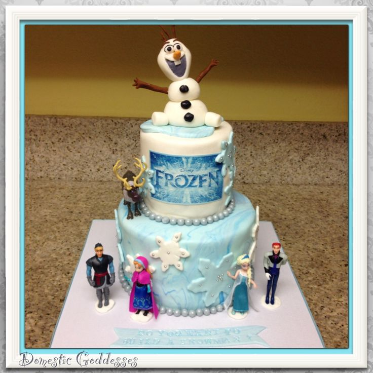 ... Frozen cakes and cupcakes on Pinterest  Frozen cake pops, Frozen and