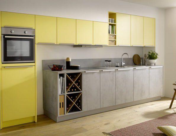 Die besten 25+ gelb Küche Lack Ideen auf Pinterest gelbe - küche streichen welche farbe