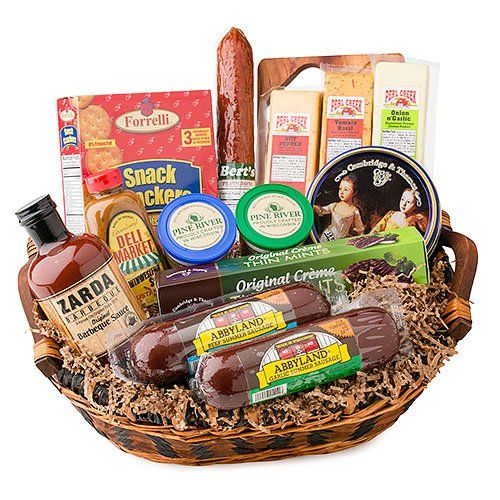 DeliDirect Gourmet Meat & Cheese Basket for only $49.98