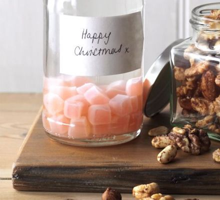 Turkish delight vodka, oh I am making this! Also great as a homemade Christmas present