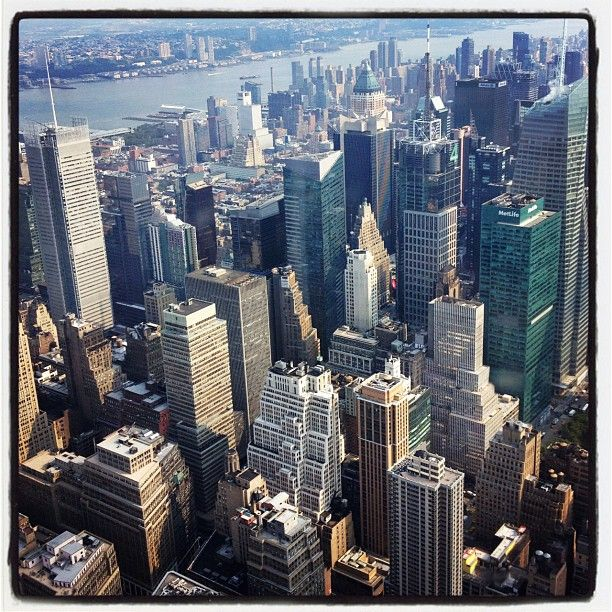Nyc view from 102nd floor of empire for 102nd floor