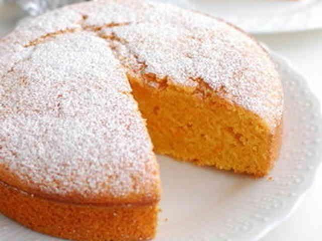 簡単おやつ♪にんじんケーキの画像