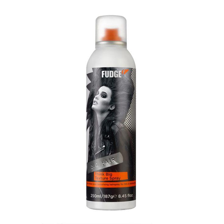 Fudge Think Big Texture Spray 250ml - feelunique.com