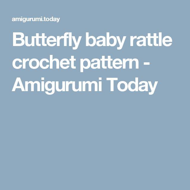 Mejores 20 imágenes de sonajero mariposa en Pinterest | Mariposas ...