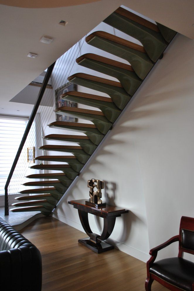 These Stairs Are Beautiful By Nastasi Architects Hoboken New Jersey